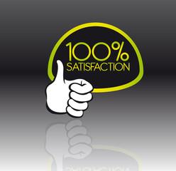 100 percent satisfaction