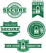 Secure Web Transaction Icons