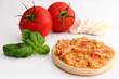 Tomate-Mozzarella-Basilikum Brötchen