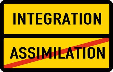 Intergration better than Assimilation