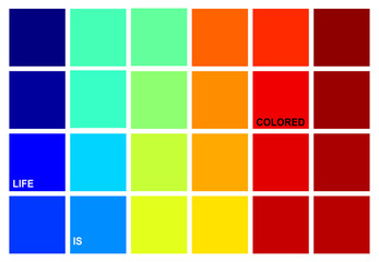 Life is colored