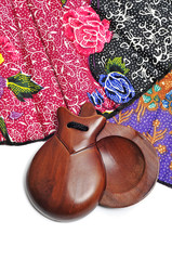 spanish castanets and hand fan