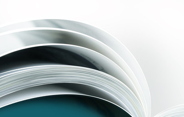open book abstract background
