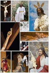 La imagen de Cristo en Semana Santa.