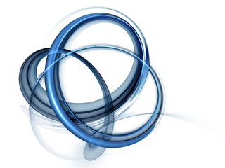 dynamic blue rotational motions