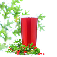 Ñowberry and Berry Juice Glass