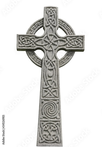 Leinwandbild Motiv Celtic Cross