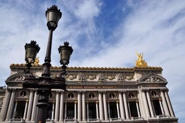 Opéra Garnier ciel d'été