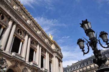 Opéra Garnier en été, Paris 09ème