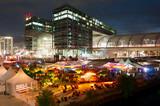 Fototapety Berlin Party Hauptbahnhof