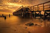 Fototapety Delaware Bay Fishing Pier