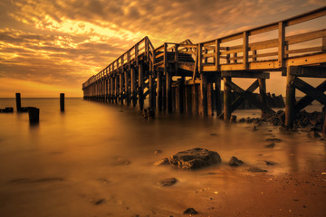 Delaware Bay Fishing Pier