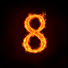 fire numbers, 8