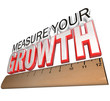 Ruler - Measure Your Growth Tracking Progress to Goal
