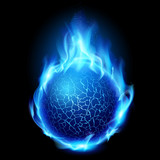 Fototapety Fire ball
