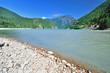 A beach of the Diablo lake