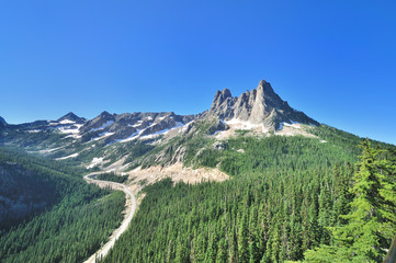 A View point on North Cascades Hwy