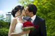 Liebe ist schön-Hochzeitspaar