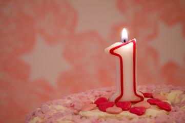 Geburtstagstorte – 1 Jahr
