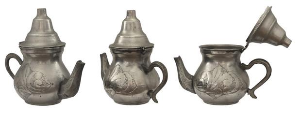 ancient tea pot