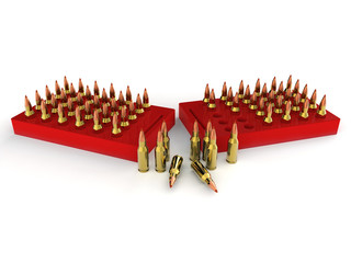 Bullets, ammo, ammunition
