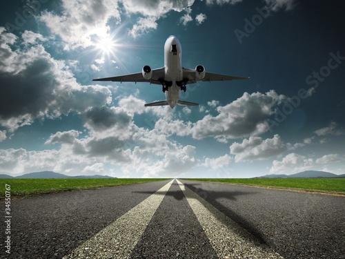 Poster 飛行機