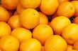 Oranges vrac au marché