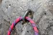 matériel escalade piton corde