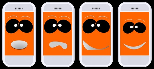 Smartphones - Smiley