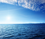 Fototapety Caribbean sea and perfect sky