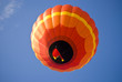 Bright Orange Balloon