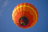 Bright Orange Balloon 2