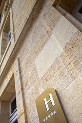 Hôtel, hôtellerie, luxe, prestige, 5 étoiles, façade, tourisme