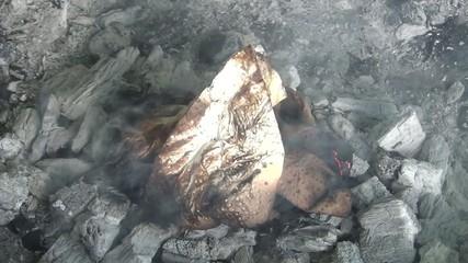 video küchenpapier brennend I