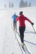 Fit im Winter durch Langlaufen