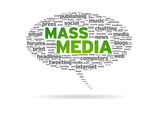 Speech Bubble - Mass Media