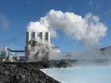 Geothermales Kraftwerk - Erdwärme