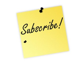 subscribe post it