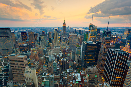New York Empire state building Times square - 34569573