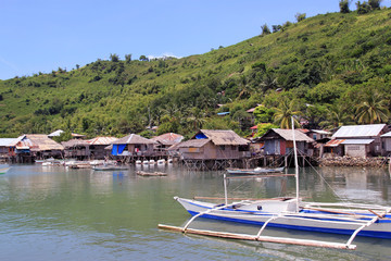 Fishing vilages in the Philipines