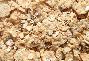 Close Up Breakfast Cereal