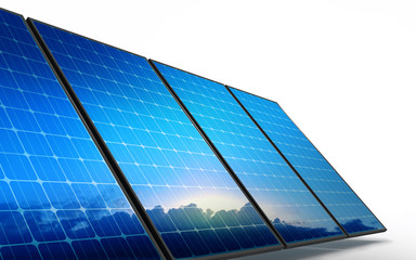 Photovoltaic cells, reflecting new ecological future