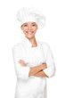 Chef, cook or baker woman