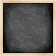 Chalkboard blackboard - black and square