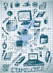 big computer icons