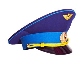 Russian military pilot's cap