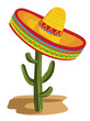 Sombrero on Cactus - 34585119