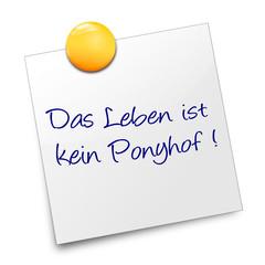 Post it Ponyhof