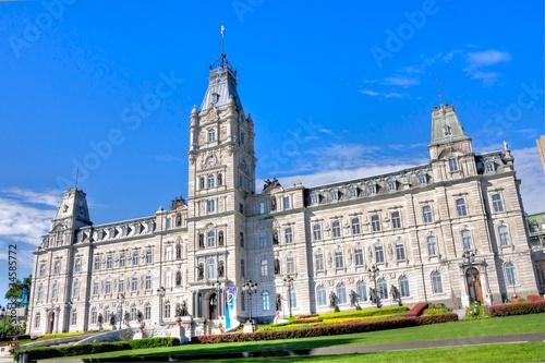 Le Bâtiment Principale du Parlement à Québec,Canada en HDR
