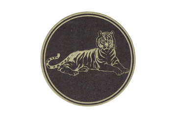 tiger in 12 chinese constellations
